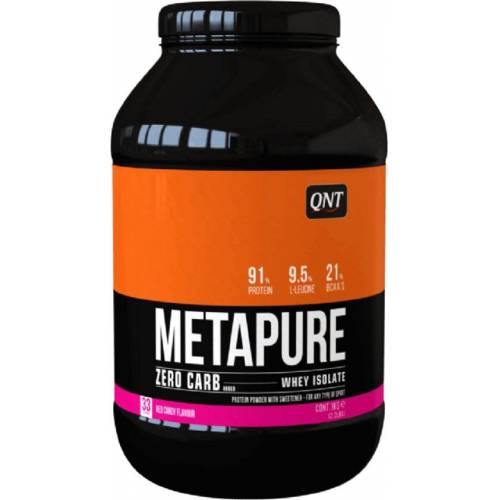 QNT Koolhydraatarm Zero Carb Metapure - 908g - Red Candy