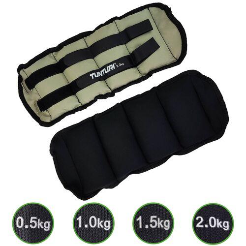 Tunturi Enkel/Pols gewichten 2 x 2.0 kg
