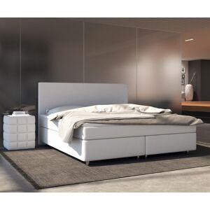 DELIFE Boxspring-bed Cloud 140x200 cm wit Topper en matras