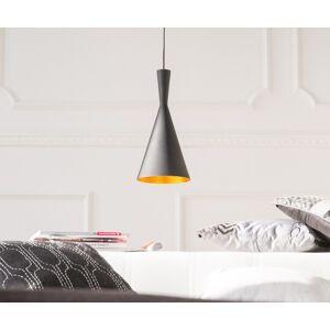 DELIFE Hanglamp Delila 19x39 cm zwart mat aluminium
