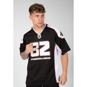 Gorilla Wear Jersey 2.0 - Zwart/Wit - 4XL