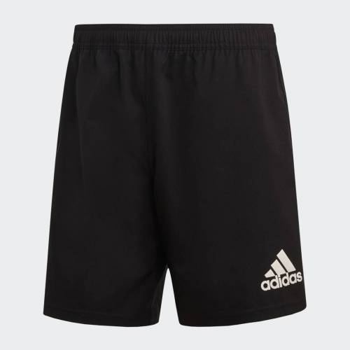 adidas 3-Stripes Short  - Heren - Black / White - Grootte: Extra Small