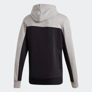 adidas Sport ID Hoodie  - Heren - Medium Grey Heather / Black - Grootte: Extra Small