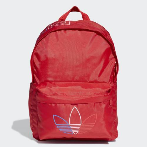 adidas Adicolor Primeblue Classic Rugzak  - Kinderen - Scarlet - Grootte: 1 Maat