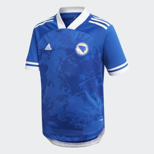 adidas Bosnië en Herzegovina 20/21 Thuisshirt  - Kinderen - Royal Blue - Grootte: 128,140,152,164,176
