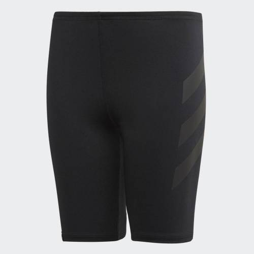 adidas Pro Lange Zwembroek  - Kinderen - Black - Grootte: 92,98,104,110,116,128,140,152,164,176