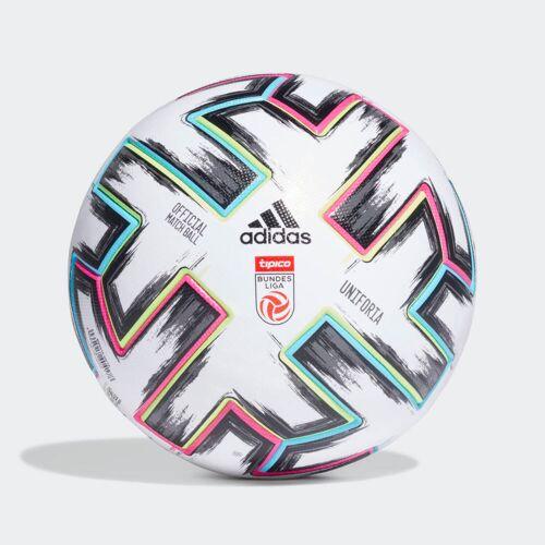adidas Austrian Football Bundesliga Pro Voetbal  - Unisex - White / Black / Signal Green / Bright Cyan - Grootte: 5