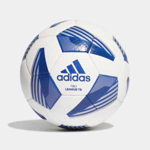 adidas Tiro League TB Voetbal  - Unisex - White / Black / Silver Metallic / Royal Blue - Grootte: 4,5