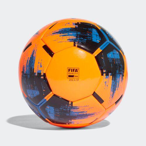 adidas Team Winter Wedstrijdbal  - Unisex - Solar Orange / Black / Blue - Grootte: 5