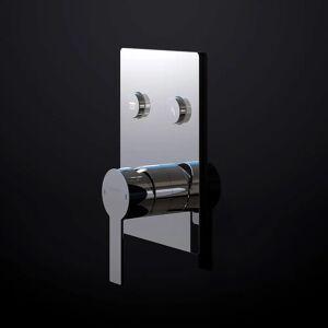 Steinberg Sensual Rain Unterputz-Einhebelmischer 3/4 für 2 Verbraucher Sensual Rain für 2 Verbraucher, mit Mengenregulierung chrom 390.2221
