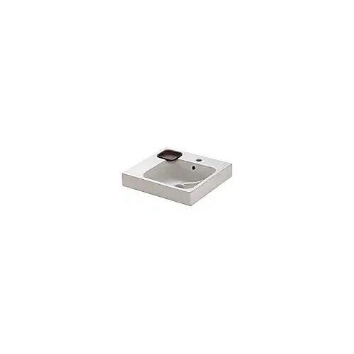 Geberit iCon Waschtisch 50 cm mit Dekoschale links iCon B: 50 T: 48,5 H: 15 cm weiß 124150000