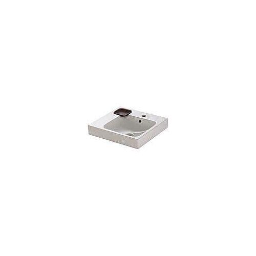 Geberit Keramag iCon Waschtisch 50 cm mit Dekoschale links  B: 50 T: 48,5 H: 15 cm weiß mit keratect 124150600