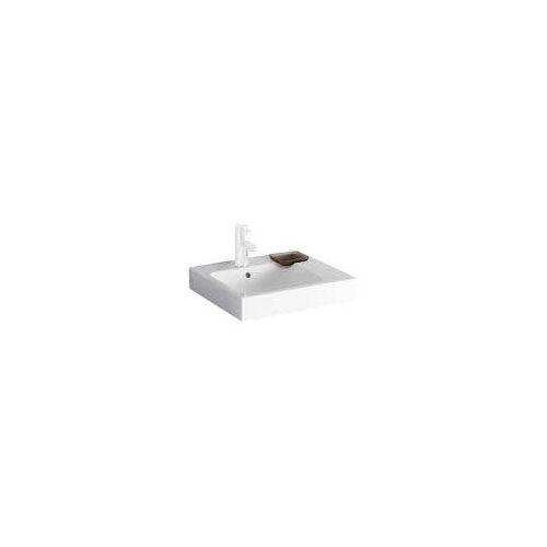 Geberit iCon Aufsatzwaschtisch 50 cm mit Dekoschale rechts iCon B: 50 T: 48,5 H: 15 cm weiß 124550000