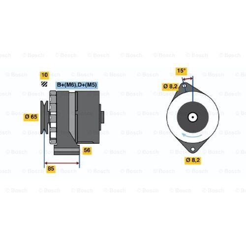 Dynamo / Alternator, 14 V