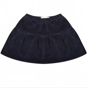 Little Indians Skirt - Total Eclipse Velour  - Size: 9-12 months