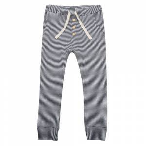 Little Indians Pants - Small Stripe Rib  - Size: 0-3 Months