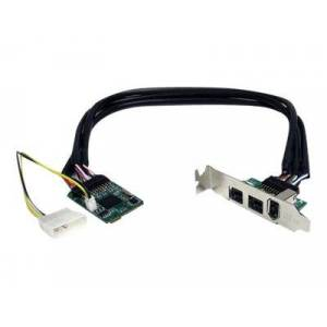 STARTECH mpex1394b3 firewire adapter pcie mini card