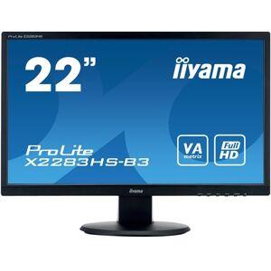 IIYAMA prolite x2283hs b3 led monitor 22  21 5 zichtbaar