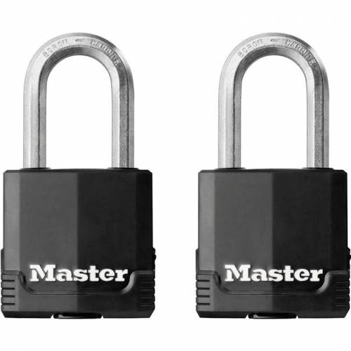 Master Lock excell-hangslot 49x38mm (2 Stuks)