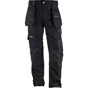 Scruffs Trade Flex werkbroek met kniezakken 56L zwart
