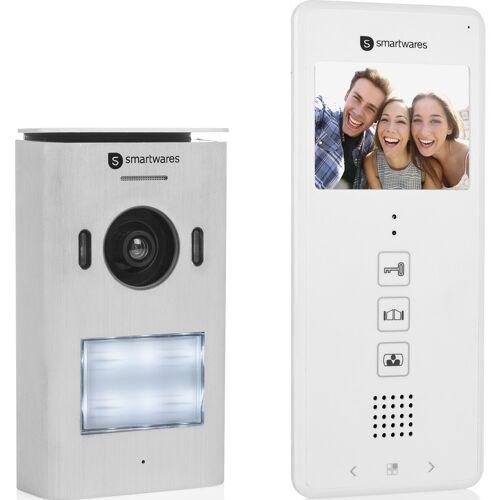 Smartwares video intercom systeem voor 1 appartement Set