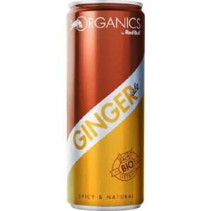 Red Bull Organics Ginger Ale 12x25CL