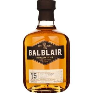Balblair 15 years Single Malt 70CL