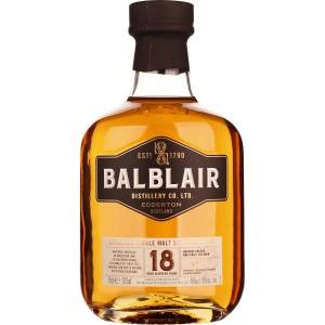 Balblair 18 years Single Malt 70CL