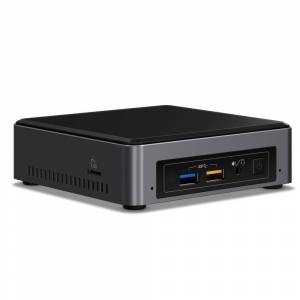 Intel NUC7I3BNK BGA 1356 2.40GHz i3-7100U Zwart, Grijs