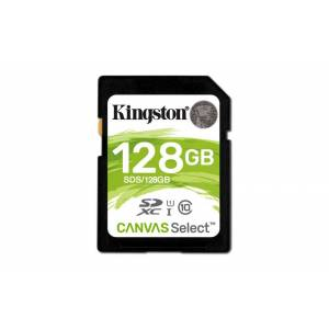 Kingston Technology Canvas Select 128GB SDXC UHS-I Klasse 10 flashgeheugen