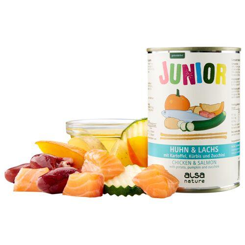 alsa-nature Junior Kip & zalm, aardappel, pompoen & courgette