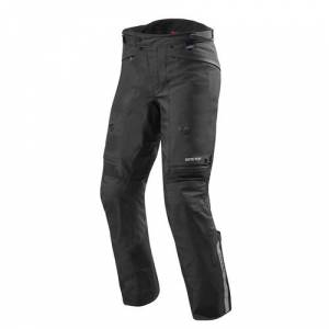 REV'IT! Poseidon 2 GTX Pants, Gore-Tex® motorbroek heren, Zwart kort