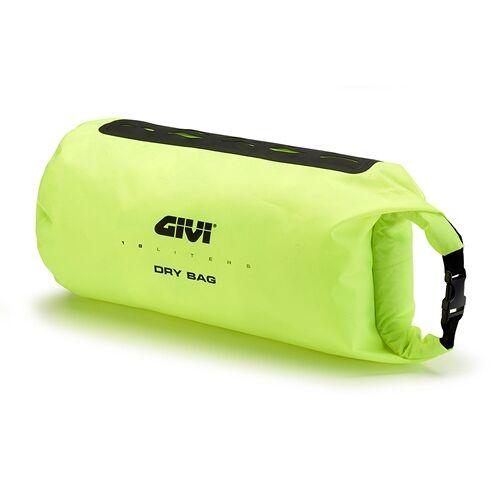 GIVI Extra cargo tas 18l, Zadel- en pakdragertassen voor op de moto, T520 Fluo Geel