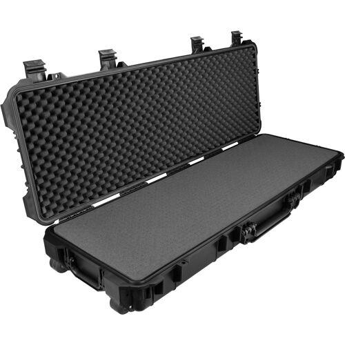 tectake Universele box geweerkoffer lang - zwart