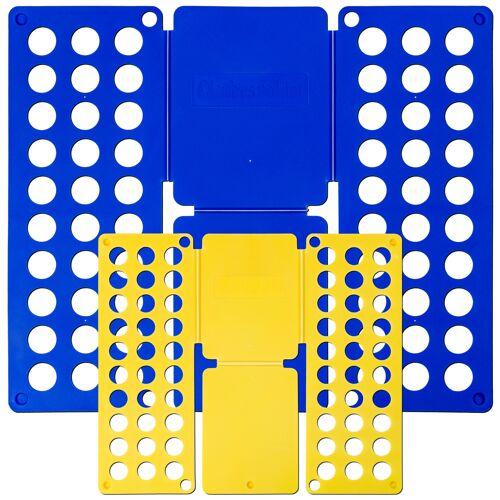 tectake Vouwplank 2-delige set Grote 59 x 70 cm Kleine 36 x 42 cm - blauw