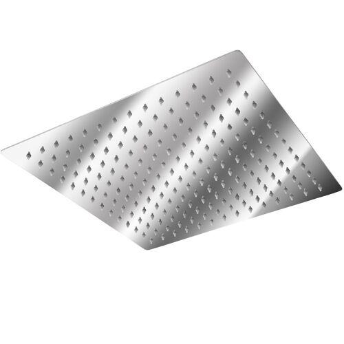 tectake Roestvrijstalen Regendouche viekant - 30 x 30 cm