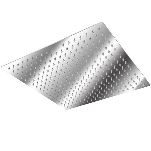 tectake Roestvrijstalen Regendouche viekant - 40 x 40 cm