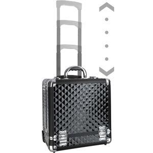 tectake Cosmetica trolley - zwart