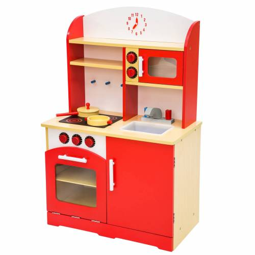 tectake Kinderkeuken - rood