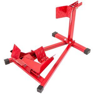 """tectake Motorstandaard - Geschikt voor wieldiameter: 17""""-21"""" - rood"""