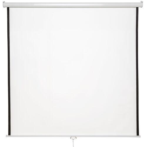 tectake HDTV Beamer scherm - 178 x 178 cm