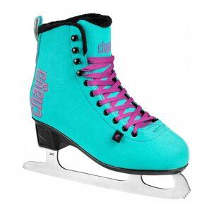Chaya - Classic Turquoise Figure Skates - Kunst Schaatsen