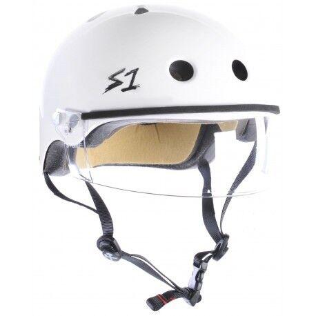 S-One - Visor Helmet White - Ska...