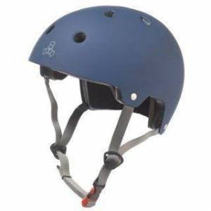 Triple Eight - Dual Certified with EPS Liner Blue - Helm