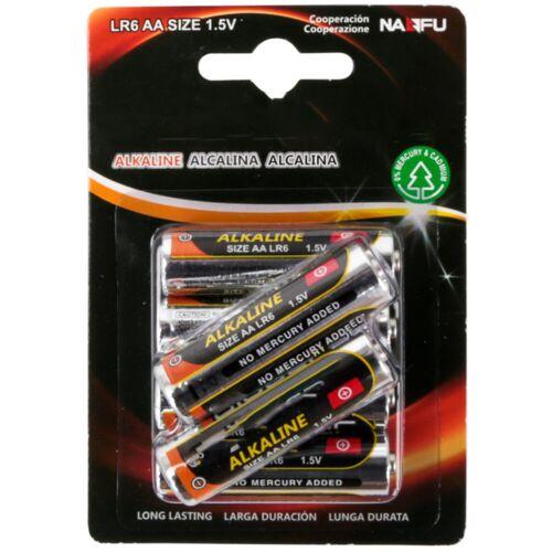 BES LED Batterij - Aigi Baty - AA/LR06 - 1.5V - Alkaline Batterijen - 6 Stuks