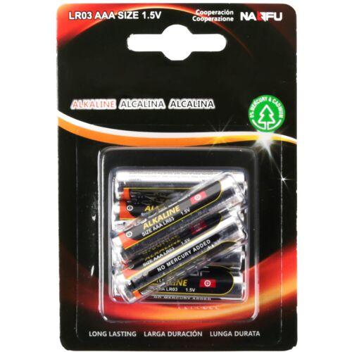 BES LED Batterij - Aigi Sio - AAA/LR03 - 1.5V - Alkaline Batterijen - 6 Stuks