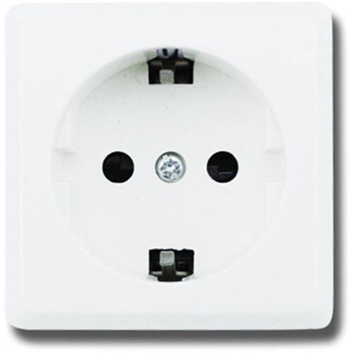 BES LED Wandcontactdoos - Aigi Kuta - Opbouw - 1-voudig - Randaarde - Wit