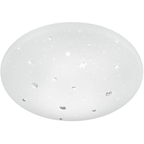 BES LED LED Plafondlamp - Trion Acinoa - Spatwaterdicht IP44 - 12W - Natuurlijk Wit 4000K - Rond - Mat Wit