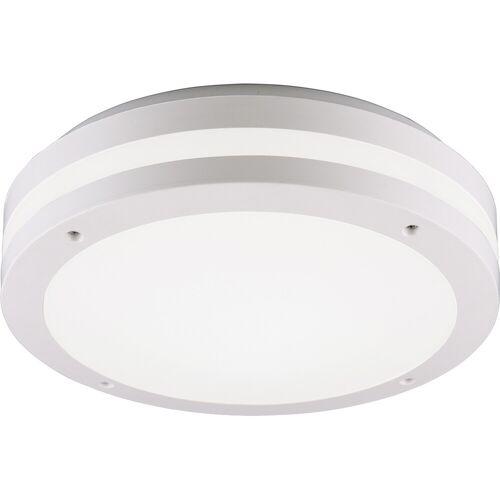 BES LED LED Plafondlamp - Trion Keraly - Opbouw Rond - Bewegingssensor - Waterdicht - 12W - Mat Wit - Kunststof