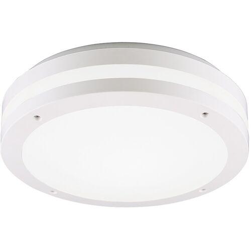BES LED LED Plafondlamp - Trion Keraly - Opbouw Rond - Waterdicht - 12W - Warm Wit 3000K - Mat Wit - Kunststof